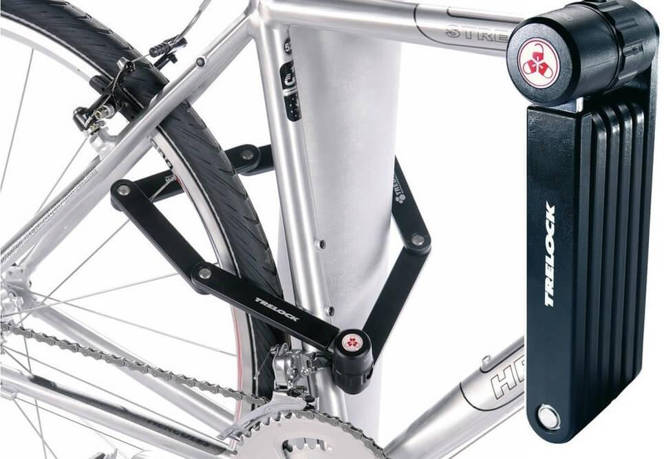 Antivol de vélo pliable