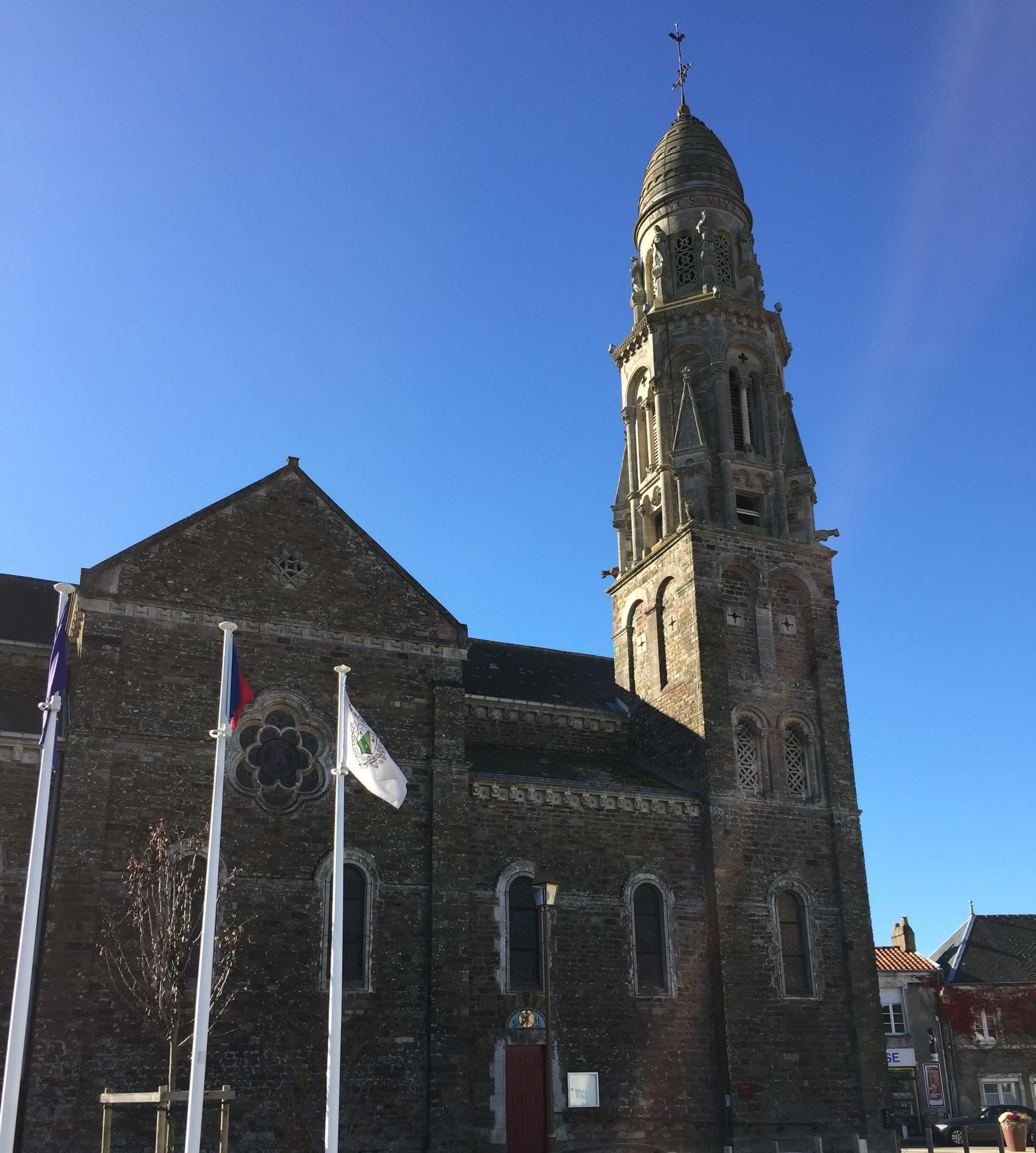 L'église de St Fiacre sur Maine