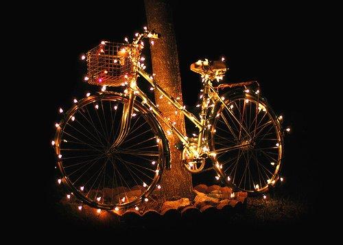 vélo de noël
