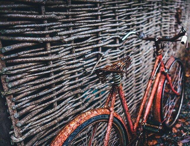 vieux vélo d'occasion