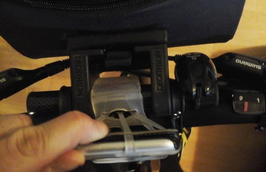 support smartphone elastique pour vélo