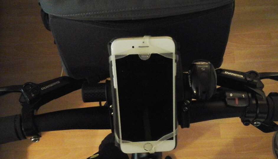 support iphone pour vélo