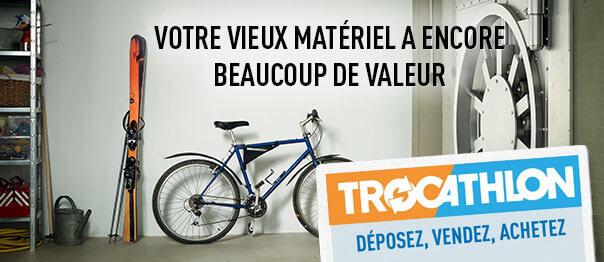 vendre son vélo trocathlon