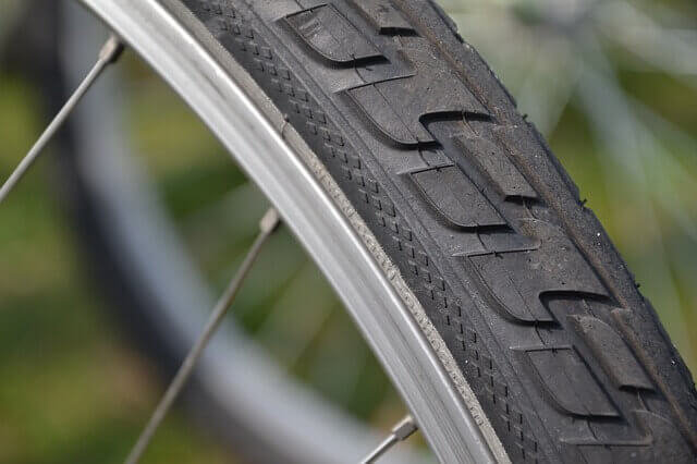 pneu vélo d'occasion