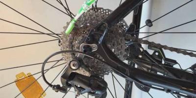 huiler plateaux vélo