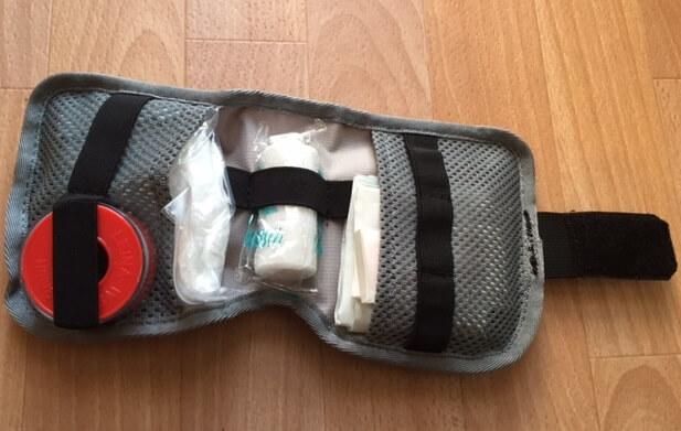 rangement du sac de soins ortlieb