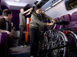 prendre le vélo dans le train