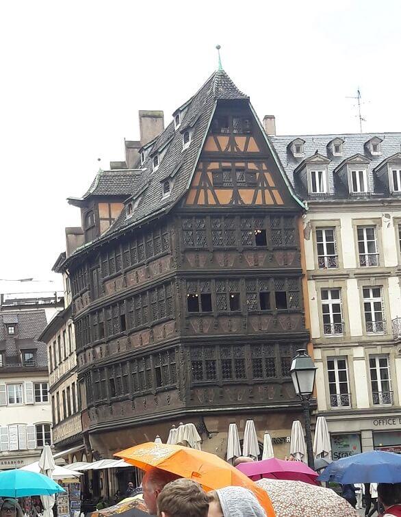 la maison kammzerzell de strasbourg
