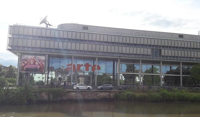 siège de arte à strasbourg