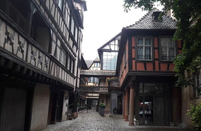 vielle ville de strasbourg