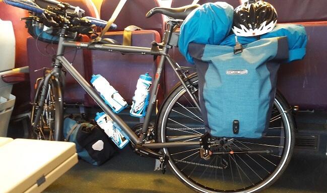 vélo dans un train tgv
