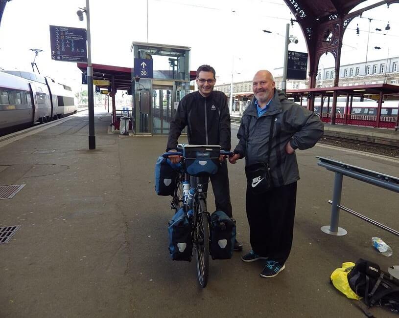 gare de strasbourg à vélo