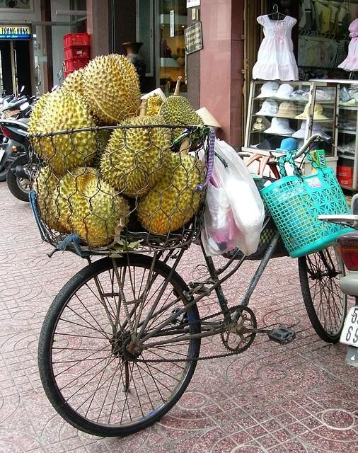 panier de recup pour vélo