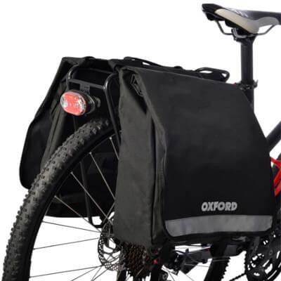 sacoche pour faire ses courses à vélo