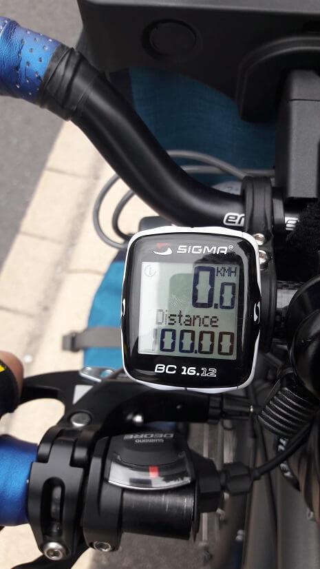 100 km vélo