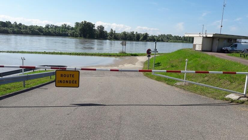 inondation du rhin