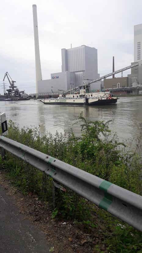 traversée bac fluviale mannheim