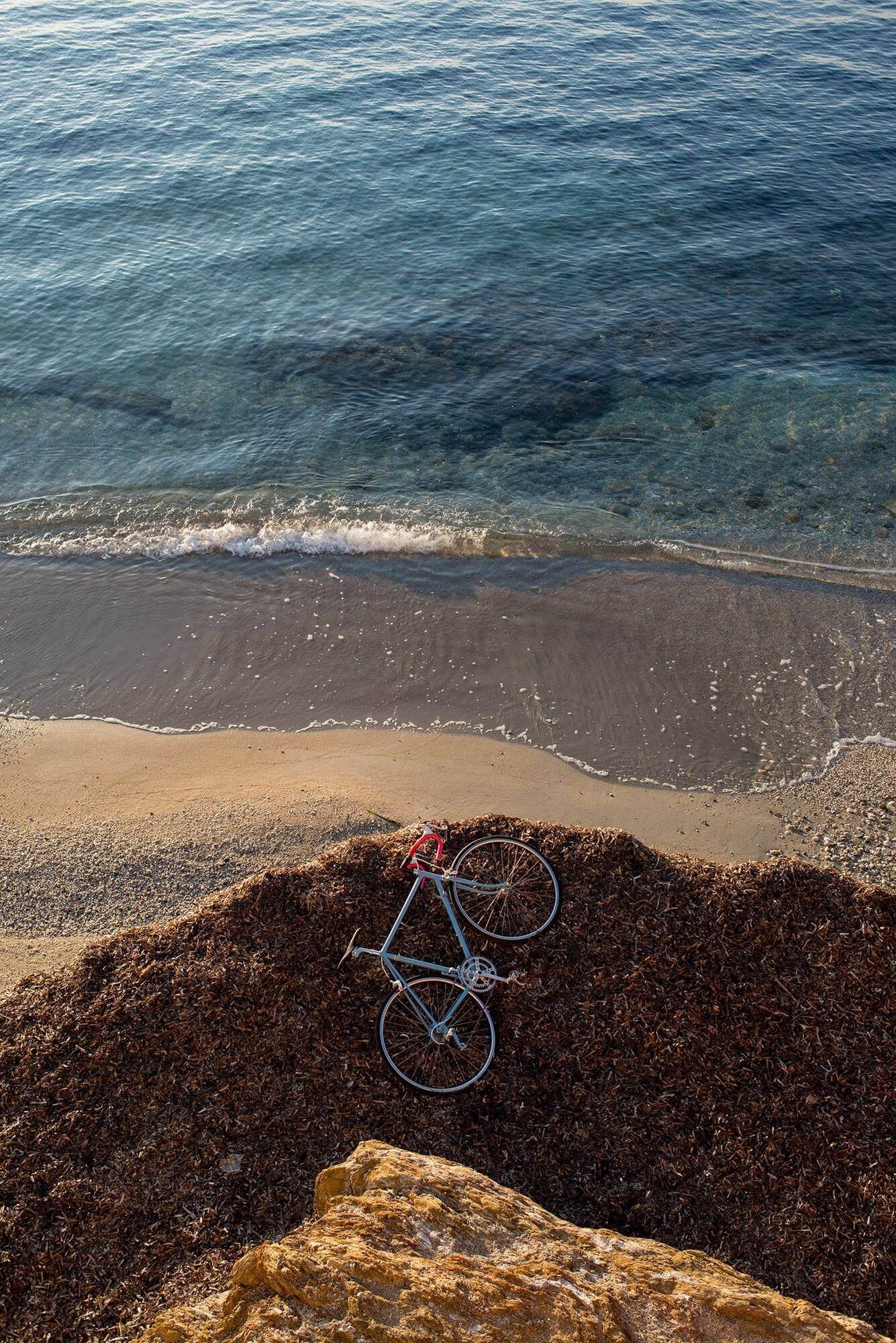 velo près de la mer