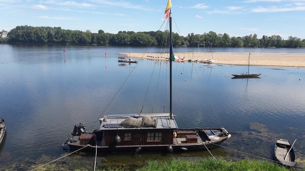 bateau loire vélo francette