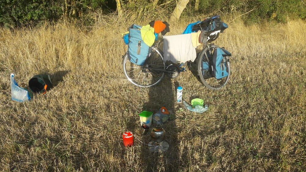 campement vélo francette