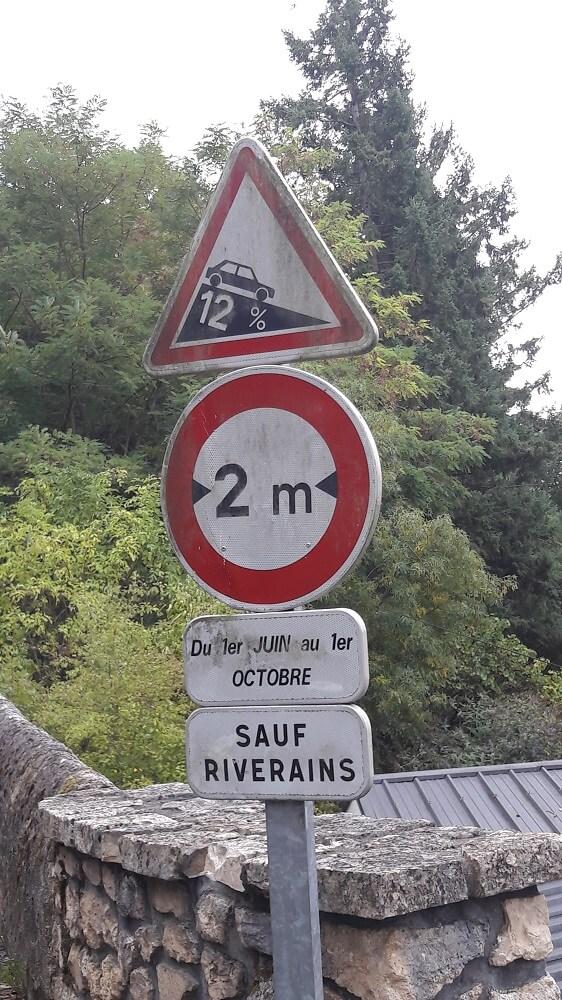 signalitique vélo francette