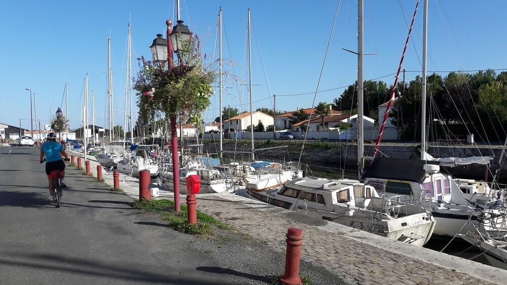 port de marans velo francette
