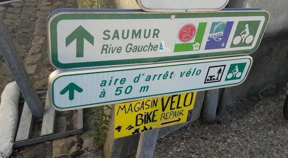 panneau vélo francette