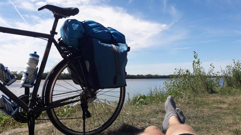 pause loire vélo francette