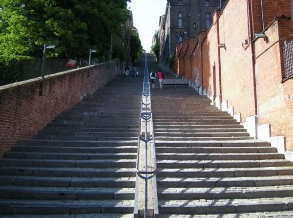 escalier liège
