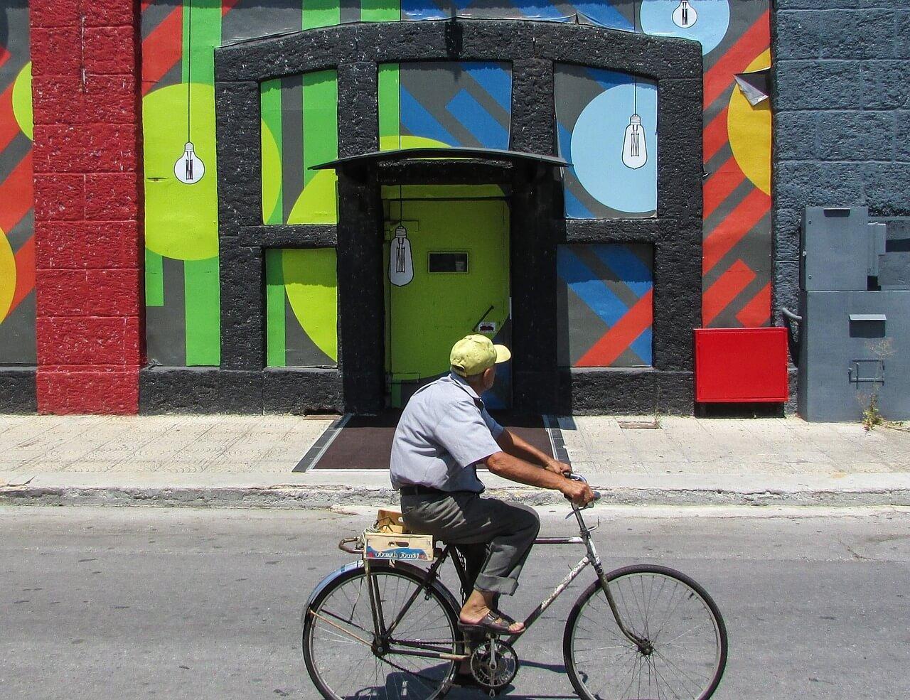 faire du vélo quand on est vieux