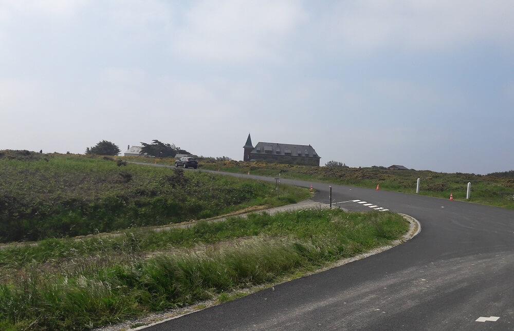 montée belle-ile-en-mer vélo