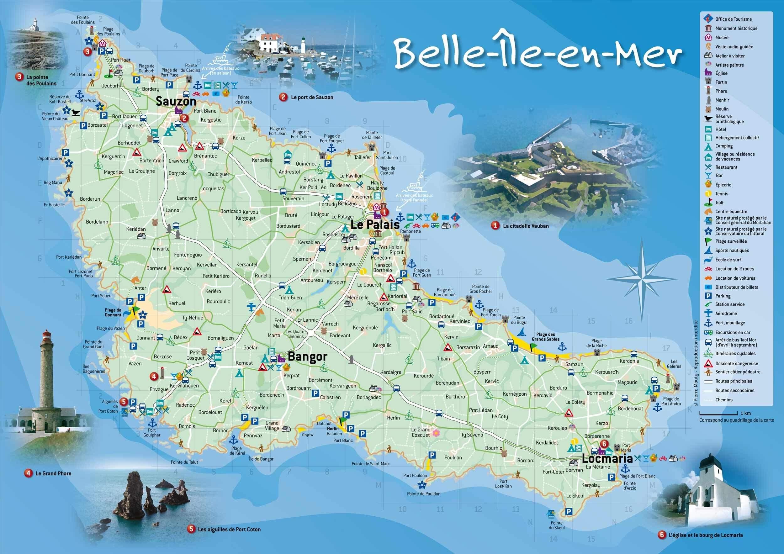 Une Ballade En Velo Sur Belle Ile En Mer Dans Le Morbihan