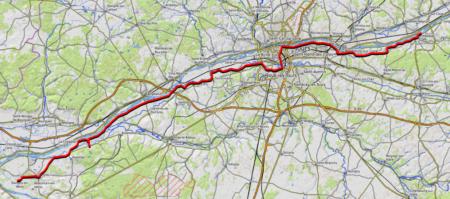 trace GPS ev6 amboise tour