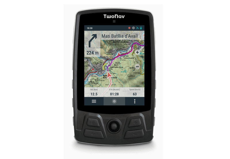 gps twonav trail bike velo