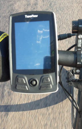 gps velo trail bike de twonav